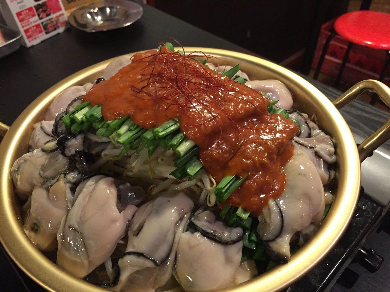 牡蠣たっぷり鍋(大)