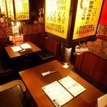 【BOX席】2名様~最大45名様迄…友人との食事・飲み会や、大人数での打ち上げ等に!