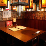 【少人数の飲み会に】2名様~利用可能のテーブル・BOX席完備