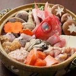 魚介の旨味が詰まった鍋料理