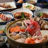 海鮮寄せ鍋コースもあります!
