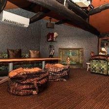 中2階に隠れ家的スペースが!