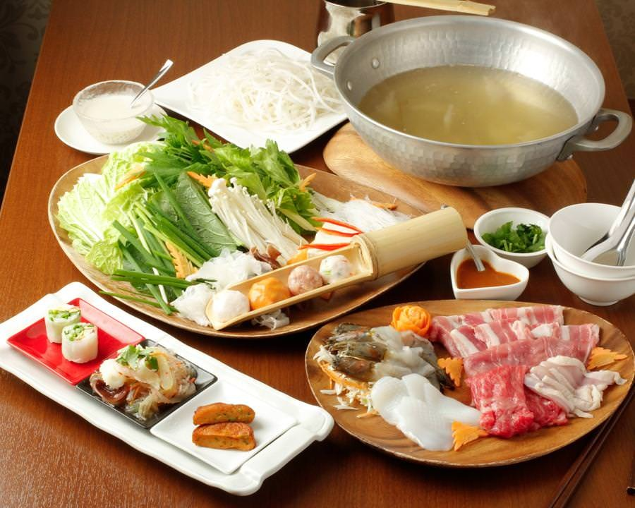 ◆名物!タイスキしゃぶ鍋コース