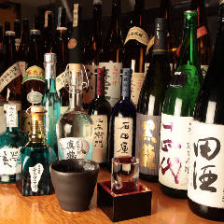 焼酎、日本酒取り揃えております