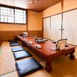 【お座敷個室】襖で仕切られた完全個室!周囲を気にせず盛り上がる!<10~36名様>