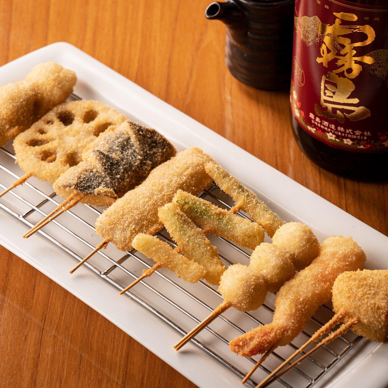 きめ細かいパン粉で仕立てた名物料理