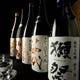 厳選した日本酒のラインナップ