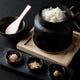 山形産はえぬき100%使用、白米土鍋炊き