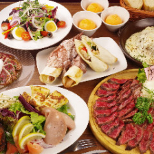 熟成肉を楽しめるイチオシコース