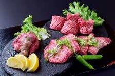 特選牛タン盛合せ(タン塩・厚切りタン塩・ねぎ塩タン)