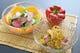 鴨と柑橘のさっぱりサラダ/シャキシャキ蓮根の胡麻ドレサラダ