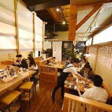 『和とバルのMIX』天ぷらスタンド