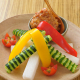 一品メニューも充実。ぽりぽり野菜と自家製生姜味噌。