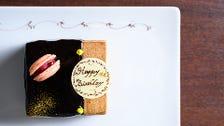 記念日にはケーキもご用意可能♪