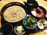 マグロ山かけ丼せいろ蕎麦定食!