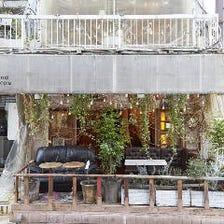 風と緑を感じる、渋谷の隠れ家カフェ