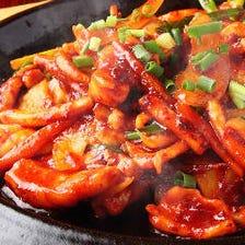 本場韓国の味をお腹一杯どうぞ♪