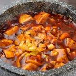 絶品!くせになるピリ辛、 マーボー豆腐