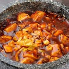 ピリ辛マーボー豆腐