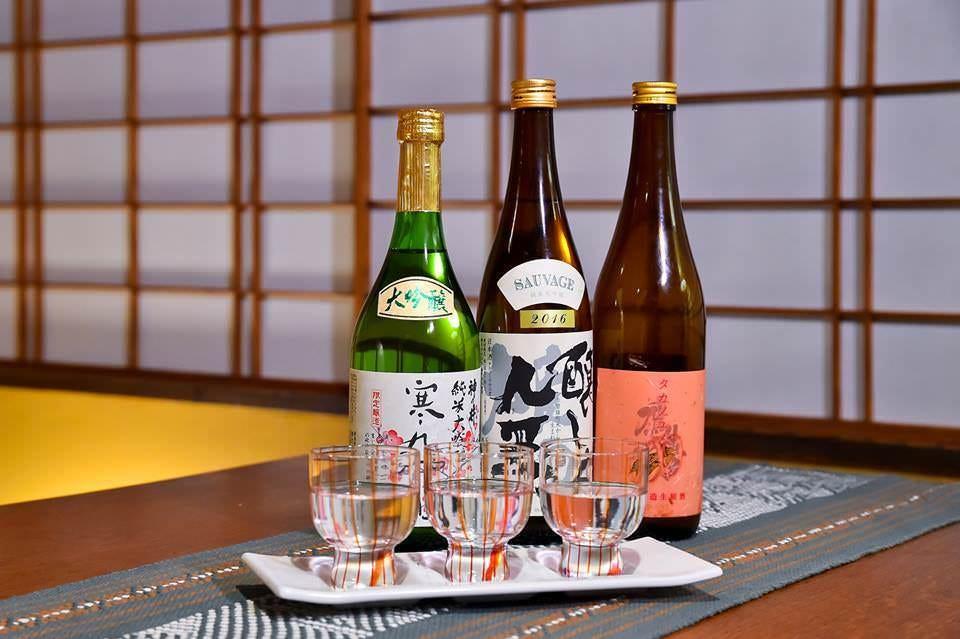 地酒(大高)酒蔵三種飲み比べ