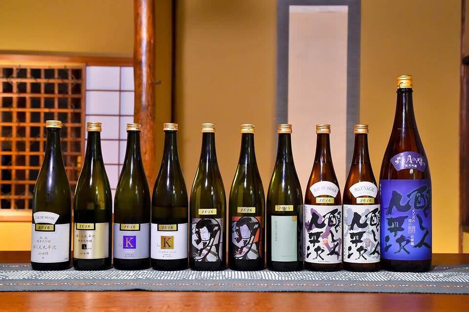 世界が認める日本酒「醸し人九平次」を取り揃えております