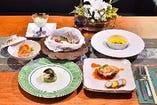 彩り鮮やかな創作料理の数々 【接待やお祝い事におすすめ】特選庄九郎コースをご用意しております。