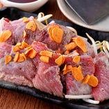 【数量限定】天然まぐろのほほ肉焼き 1匹のマグロからわずかしか取れない希少部位。