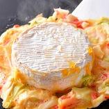 まるごとチーズをドドンと! チーズ天は大好評!