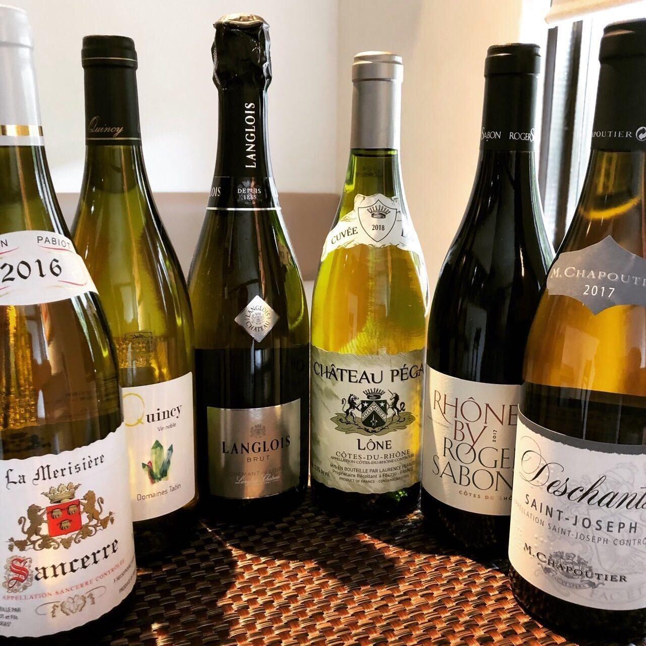 選りすぐりのワインを豊富に取り揃え