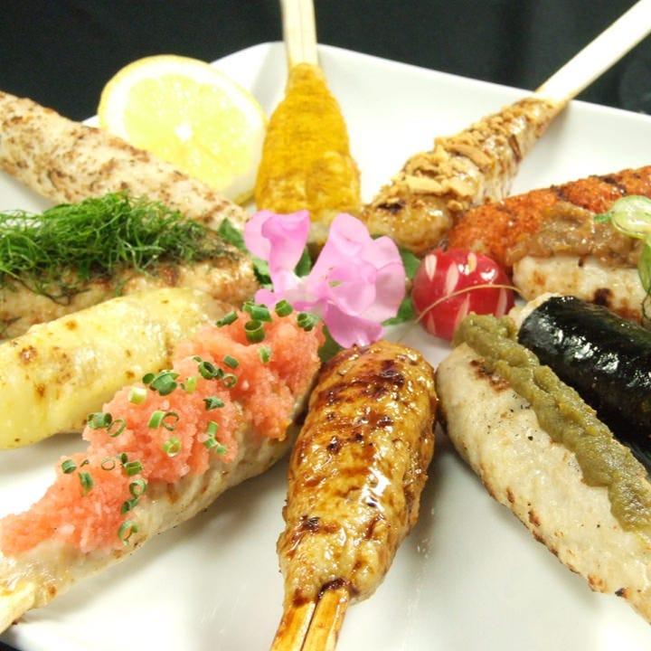 10月【2h飲み放題】旬魚のお造り、奥三河鶏の照り焼き、海鮮ちらしなど【得々コース】2980円《全7品》