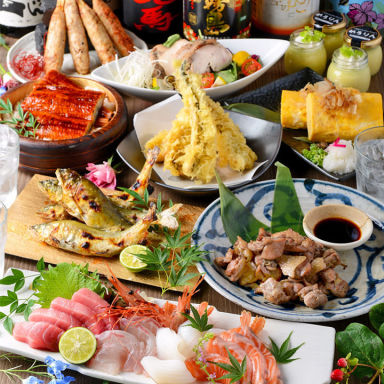 完全個室 名古屋コーチン 新鮮魚介 地鶏坊主 岩倉駅前店  コースの画像