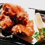 奥三河鶏もも肉の唐揚げ