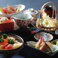 季節の和膳、10食限定松花堂膳