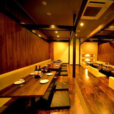肉炙り寿司食べ放題×肉バル BRUNO 名古屋駅店 店内の画像