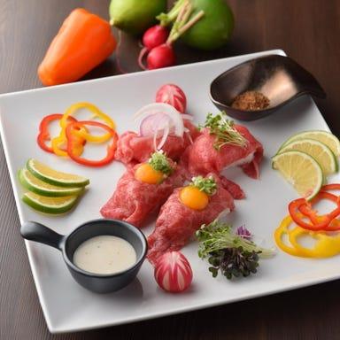 肉炙り寿司食べ放題×肉バル BRUNO 名古屋駅店 こだわりの画像