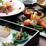 [会席もどうぞ] 近江牛や季節の食材を使った会席ございます。
