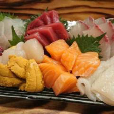 新鮮な魚介類が自慢です