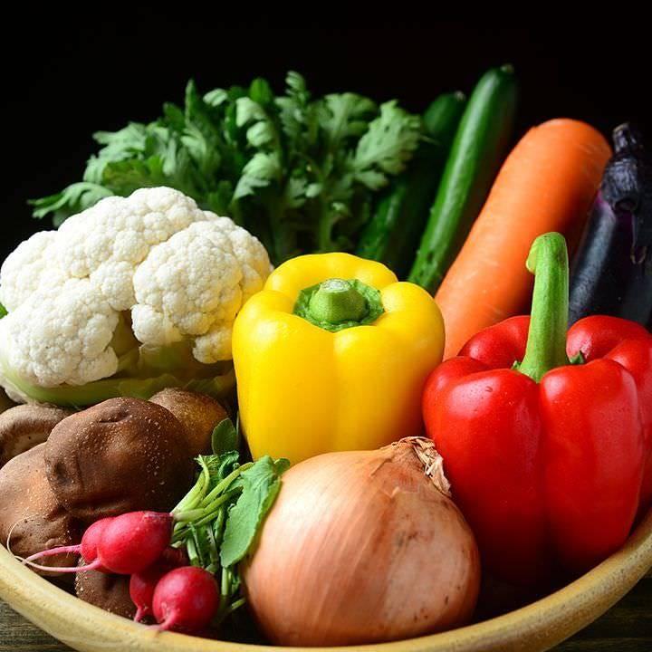 契約農家産直野菜など厳選された食材