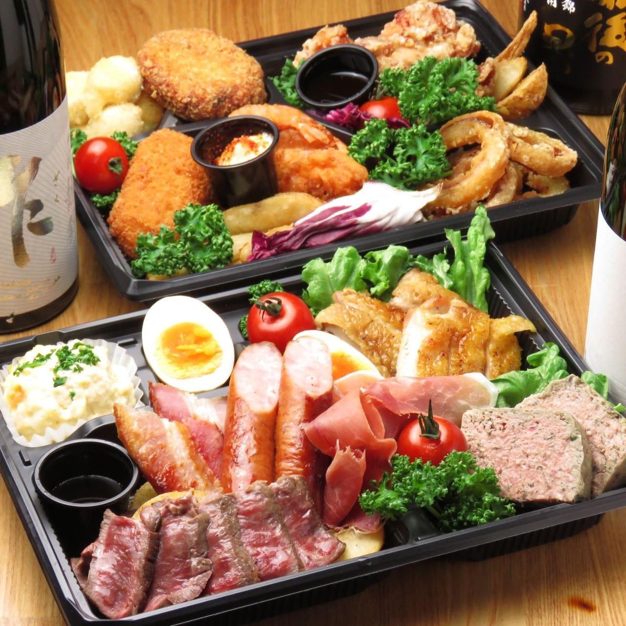 焼酎・日本酒プレゼント付きパーティーセットもオススメ。
