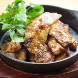 イベリコ豚ベジョータのタレ焼き