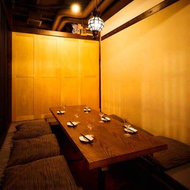 完全個室完備 炉端×鮮魚 まな板の上のサカナ 千葉店 店内の画像