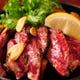 黒毛和牛の鉄板焼き肉