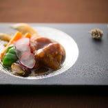 豚フィレを使った上品な味わいの和酢豚