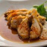 若鶏の唐揚げ 油淋鶏ソース