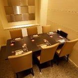 優雅な個室空間で自慢のコース料理を心ゆくまで堪能