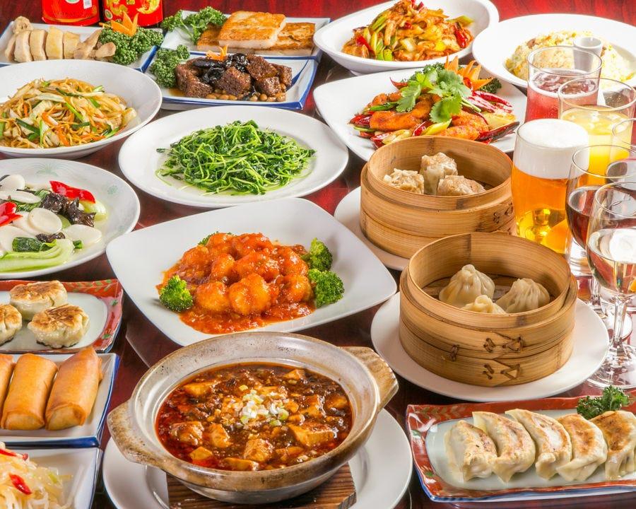 【3時間飲み放題付】全100品以上から選べる食べ放題コース|歓送迎会 宴会 飲み会