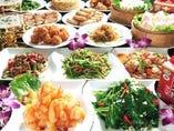 当店自慢の料理を心ゆくまで堪能できる『食べ飲み放題コース』!