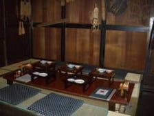 秋田の古民家の小上がり座敷