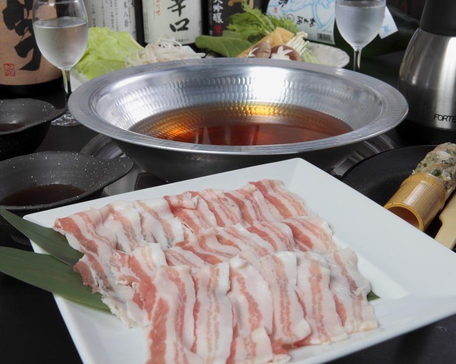 特選食材☆鹿児島県産の黒豚