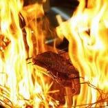 鰹の藁焼き